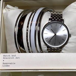 Watch braclet set